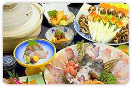 【幻の高級魚を食す旅】★極上の紀州本クエ鍋フルコース★くえ料理がたっぷり味わえる♪